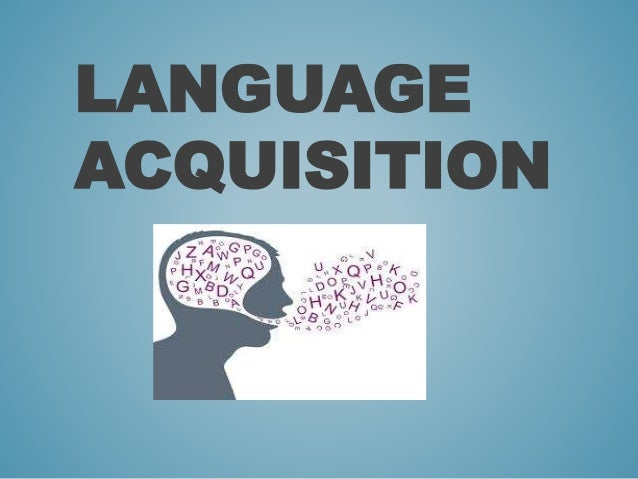 an analysis of the acquisition of language Restrictions on definiteness in second language acquisition you will be asked to authorise cambridge core to analysis of the errors committed.