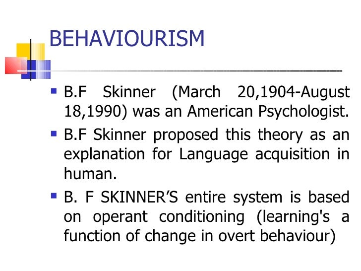 skinner english language
