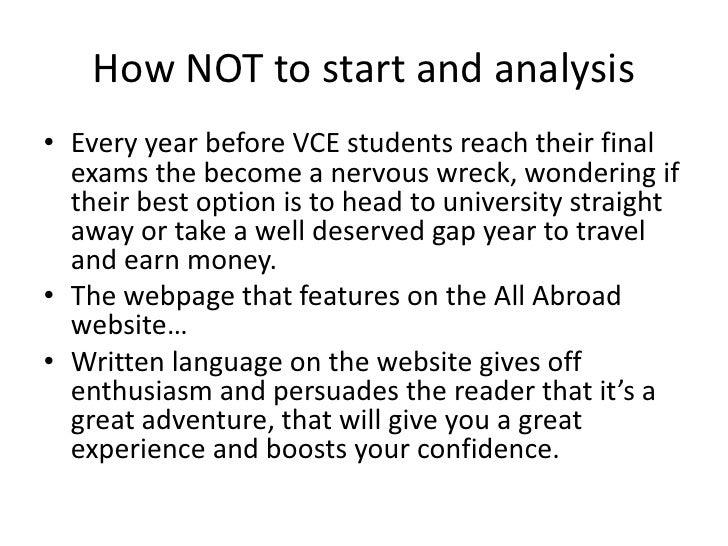 Custom Writing at $10 & how to write language analysis essay vce
