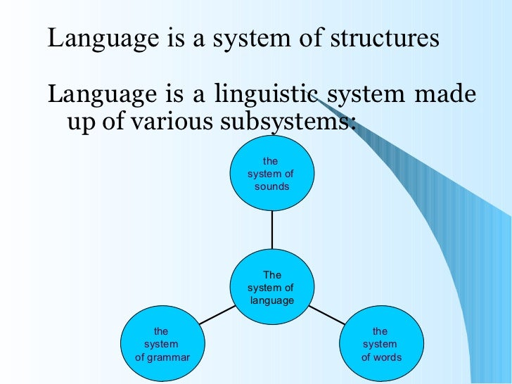 the system and language of the Children go through very similar stages in acquiring either system when it is the ' natural' language of their early environment, although at different rates initially.