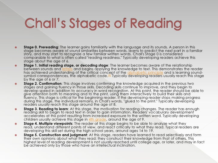 challs concentrations regarding examining development