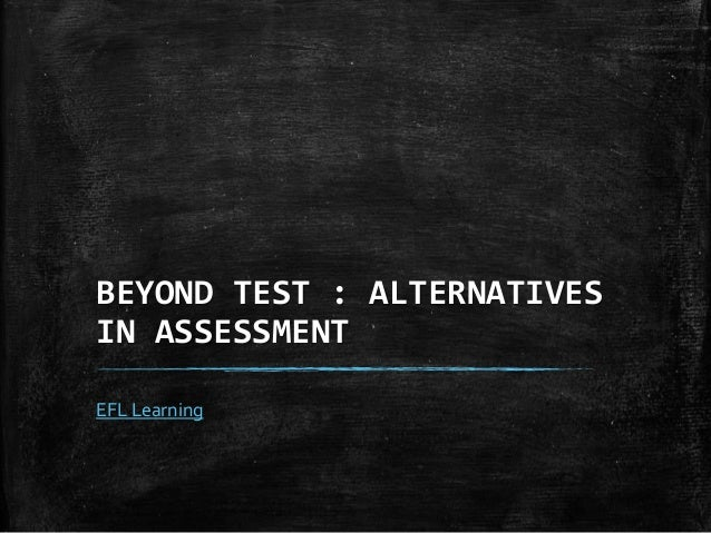 alternative assessment pdf