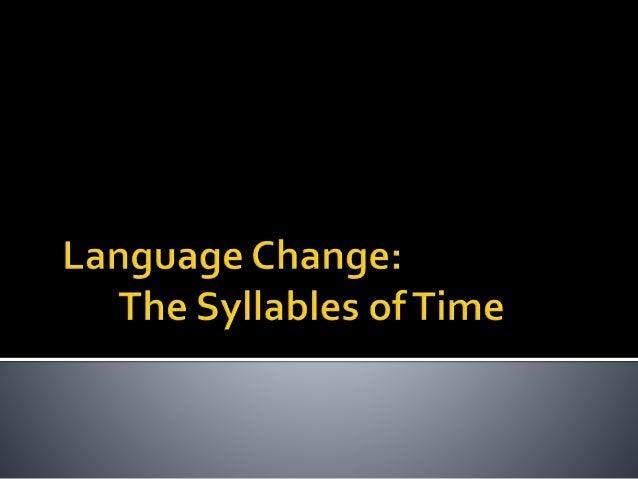 language change by zahril