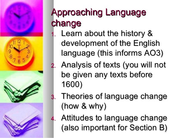 growth and change in the english language Global englishes and change in english language teaching:  higher education  and the growing demand for english: an investigation into the.