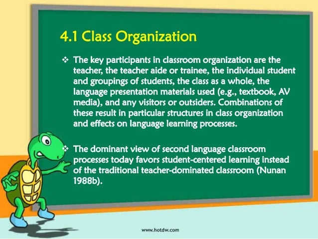 what is classroom instruction