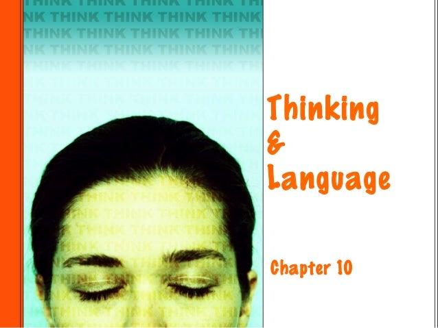 Thinking&LanguageChapter 10