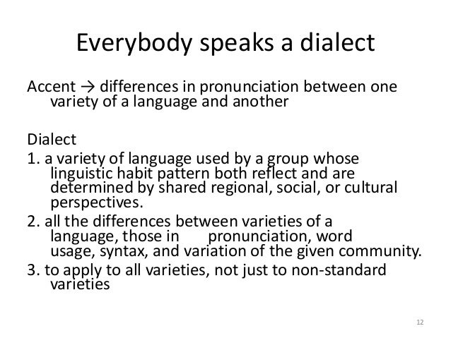 difference between register and dialect