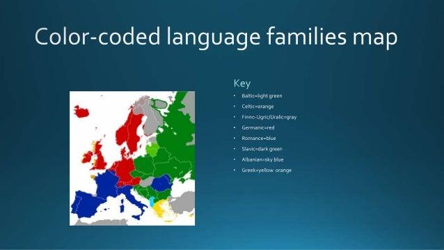 Language Families Of Europe