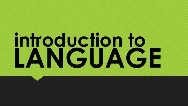 Arbitrary Nature Of Human Language