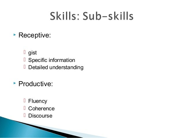 celta 2 authentic text used for productive and receptive tasks Celta assignment 2:  the receptive language skills and / or sub-skills that could be practised using authentic text,  celta language related tasks.