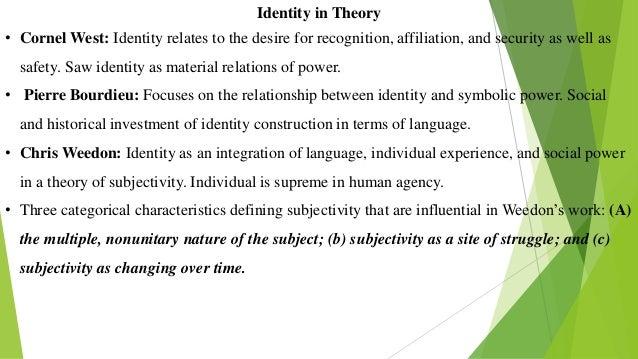 Language Identity And The Ownership Of English