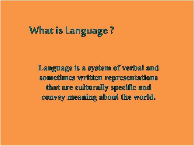 Language Is Symbolic Language Is Arbitrary