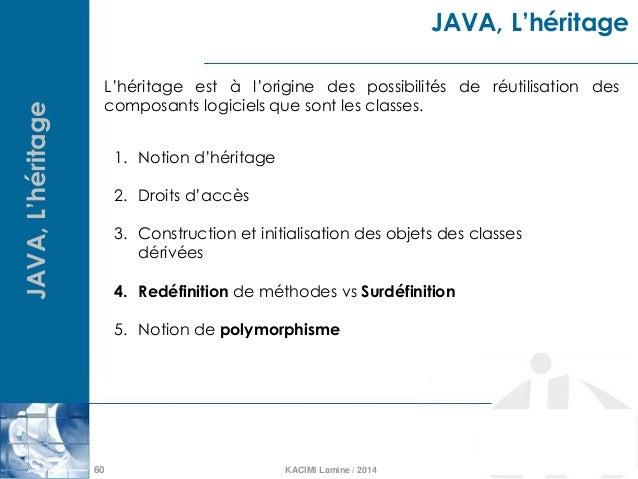 Language java