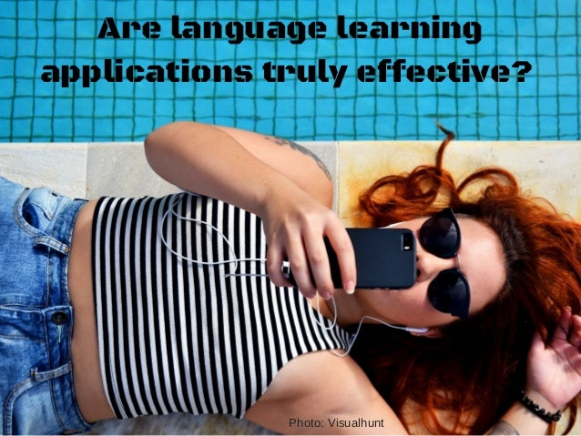 Language learning apps  Slide 3