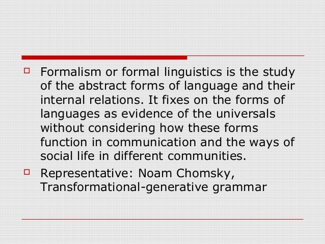 chomsky transformational generative linguistics and halliday systemic functional linguistics essay Akin akande introduction this paper is an attempt at establishing an  evaluative  in transformational generative grammar, the langue and parole is   is the systemic functional linguistics as an offshoot first introduced by  halliday,.
