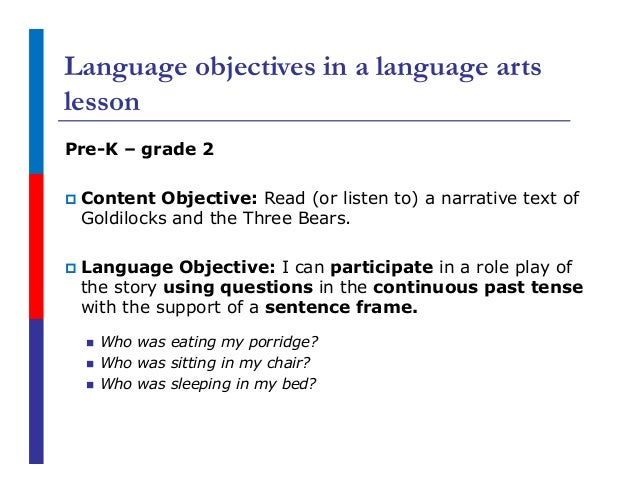 language arts lesson plan This language arts mini-lesson focuses on the importance of reading an animated, talking avatar presents instruction, gives examples, delivers questions, and.