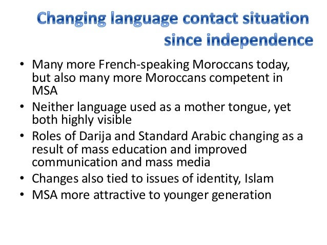 Languages of Morocco - Wikipedia