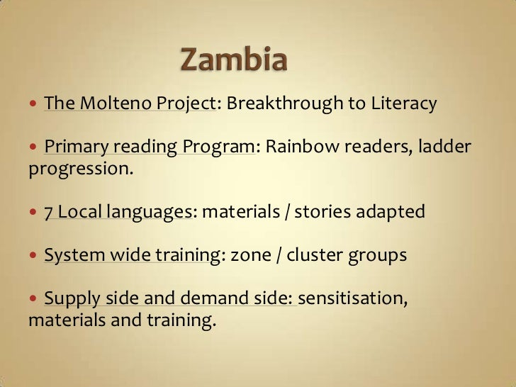 Language Policy In Papua And Zambia