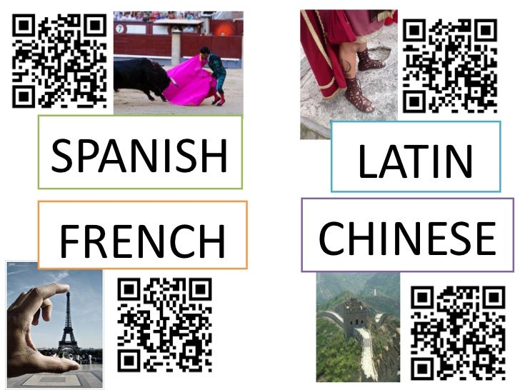 SPANISH    LATINFRENCH    CHINESE