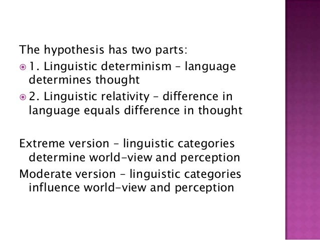 language thought and culture slideshare