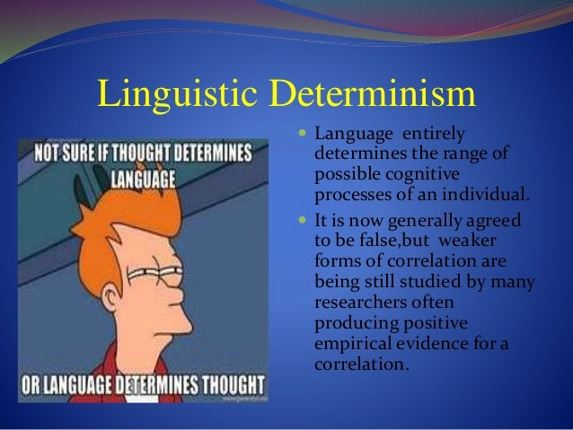 What Is Linguistic Relativity?