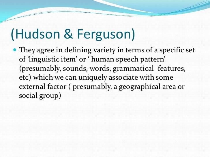 language, dialect, varietes Slide 3