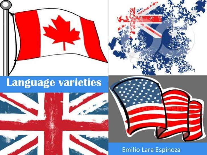 Language varieties                     Emilio Lara Espinoza