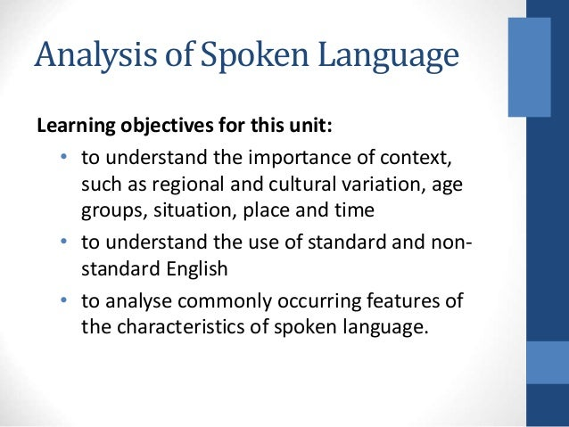 an analysis of jargon spoken by Literary analysis and terminology for the study of literature has its own specific jargon one thing, generally abstract, is implicitly spoken of in terms.