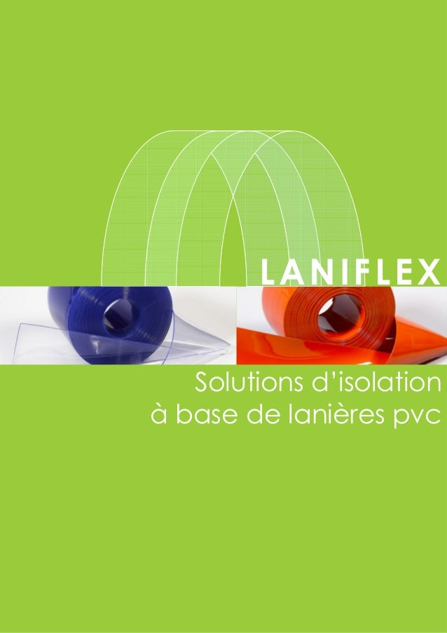LANIFLEX Solutions d'isolation à base de lanières pvc