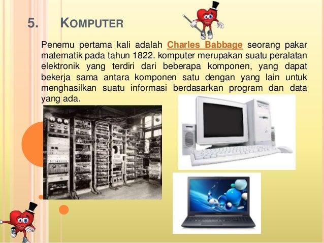 Penemu Alat Alat Teknologi Informasi Dan Komunikasi