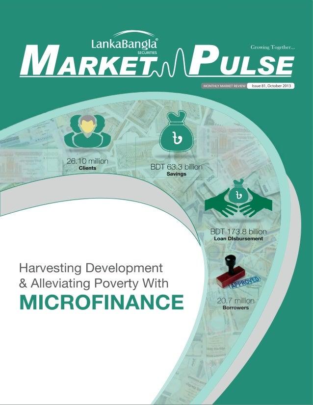 Sourajit Aiyer - LankaBangla Market Pulse -  Technology in Stock Broking Value Chain - Bangladesh, Oct 2013