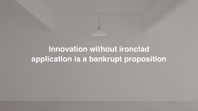 Discover Devise Deploy Sustain A vigorous framework is needed to achieve Applied Innovation