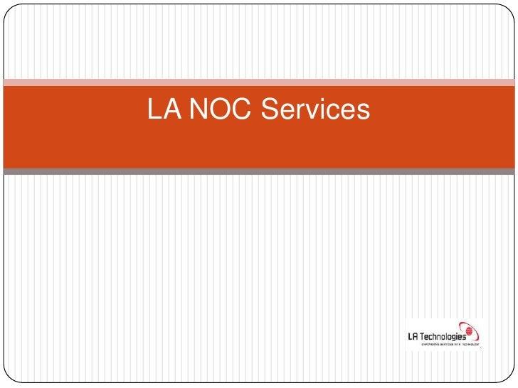 La Noc Fcaps Services By Devendra Sonkusare