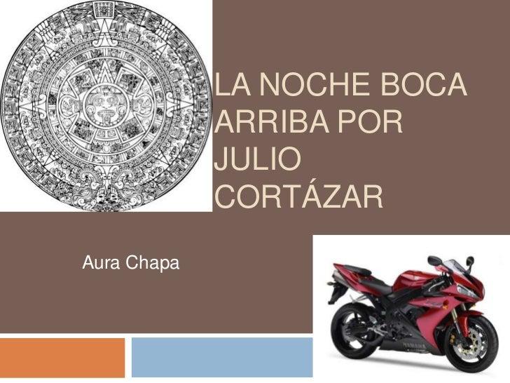LA NOCHE BOCA             ARRIBA POR             JULIO             CORTÁZARAura Chapa