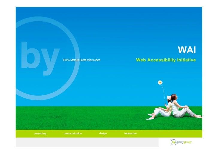 WAI Web Accessibility Initiative