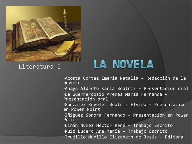 Exposición de literatura de la novela