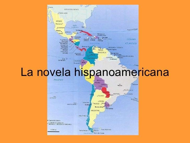 La novela hispanoamericana