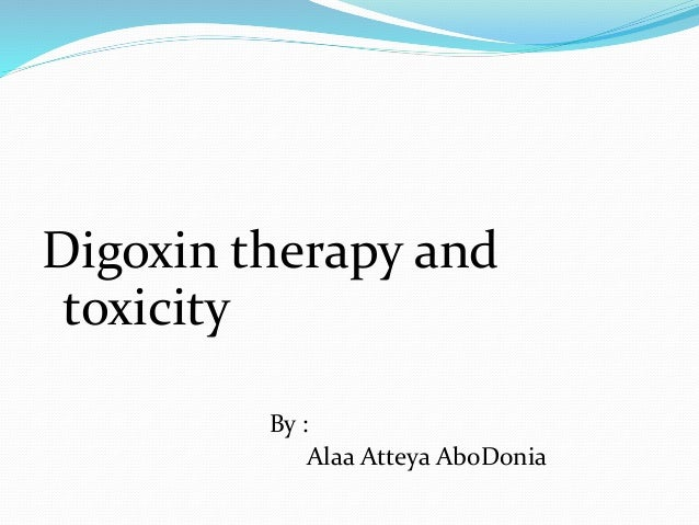 Digoxin Level Test