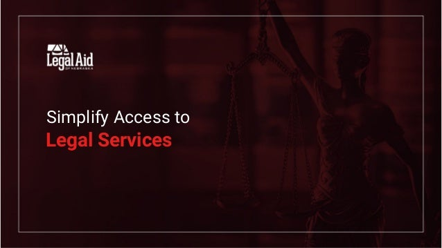 Simplify Access to Legal Services