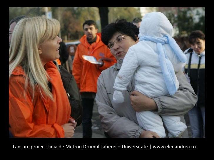 LansareproiectLinia de MetrouDrumulTaberei – Universitate | www.elenaudrea.ro<br />