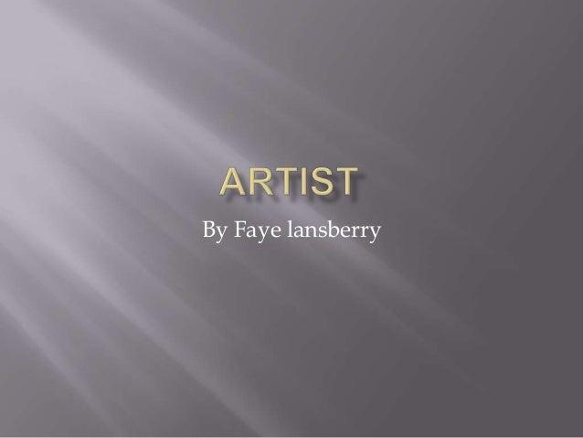 By Faye lansberry