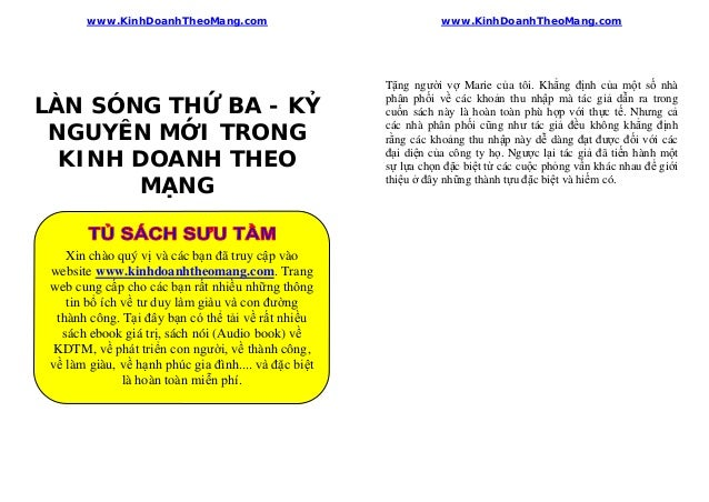 www.KinhDoanhTheoMang.com                                       www.KinhDoanhTheoMang.com_________________________________...