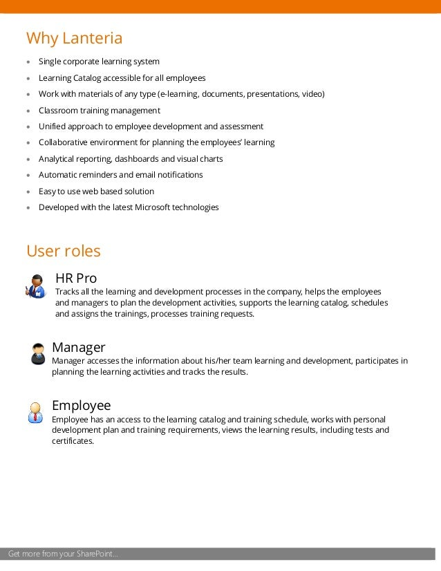 learning management system on sharepoint
