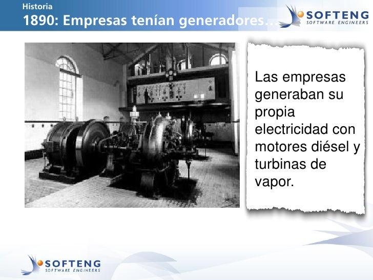 Historia1890: Empresas tenían generadores…                              Las empresas                              generaba...