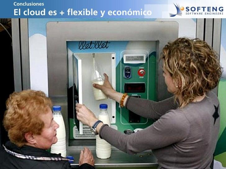 ConclusionesEl cloud es + flexible y económico