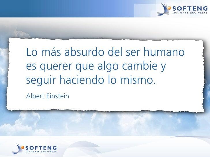 Lo más absurdo del ser humanoes querer que algo cambie yseguir haciendo lo mismo.Albert Einstein