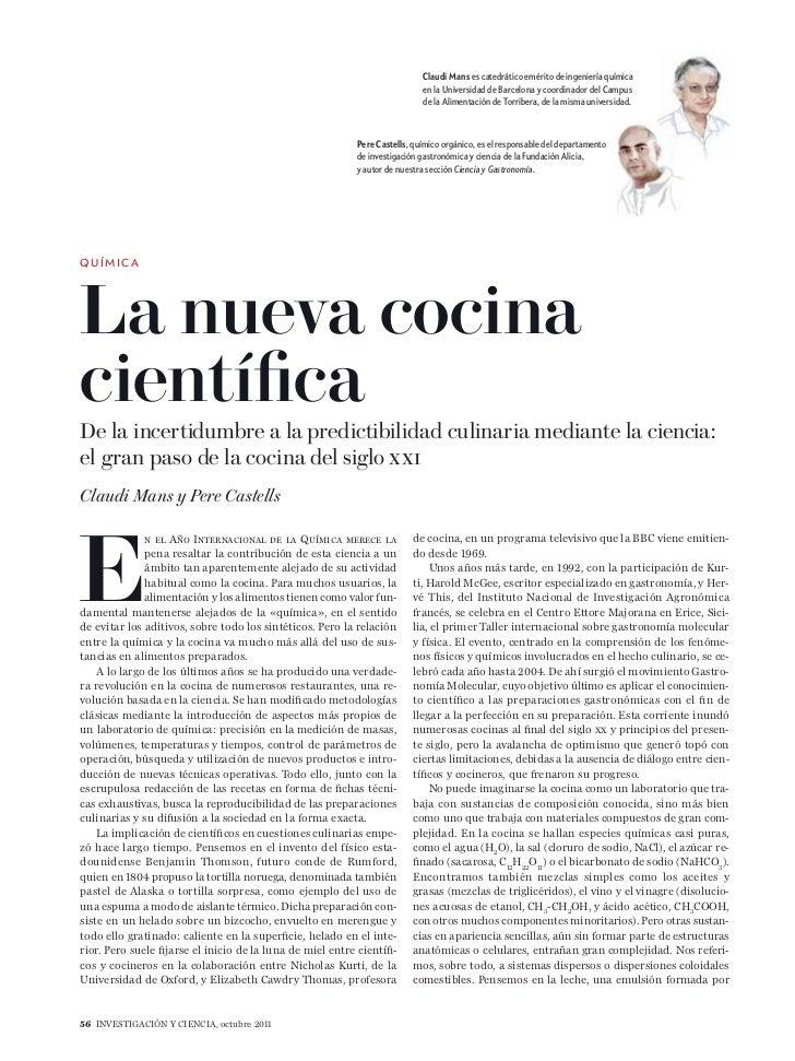 la nueva cocina cientifica