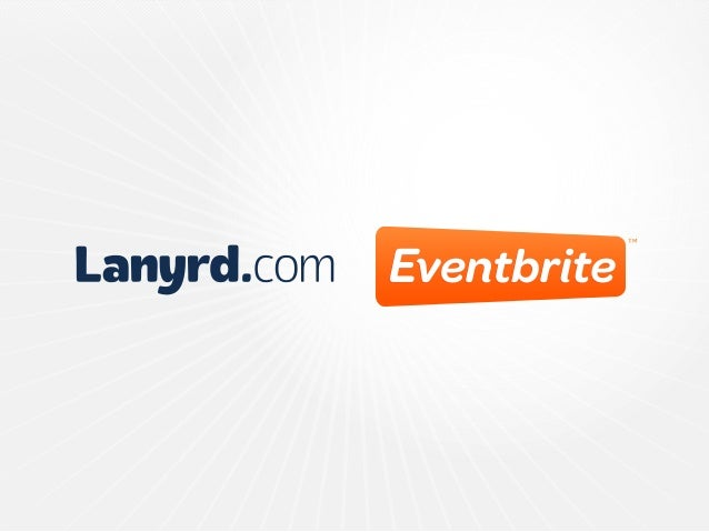 Lanyrd is now part of Eventbrite. To celebrate, we've made it easier to tie your Eventbrite and Lanyrd worlds together.