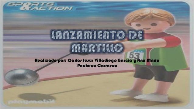 Realizado por: Carlos Jesús Villadiego García y Ana María Pacheco Carrasco