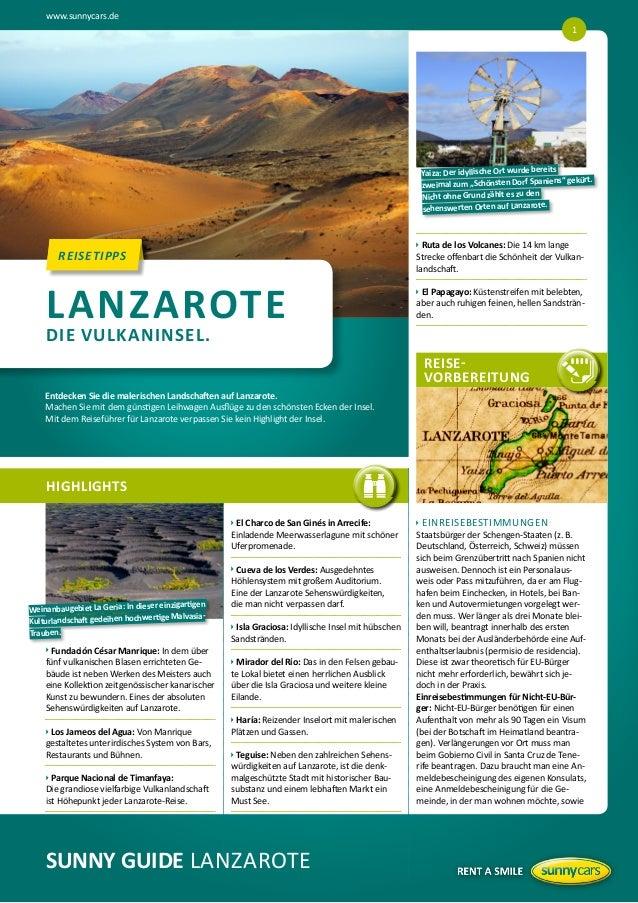 """www.sunnycars.de 1  its Yaiza: Der idyllische Ort wurde bere iens"""" gekürt. zweimal zum """"Schönsten Dorf Span Nicht ohne Gru..."""
